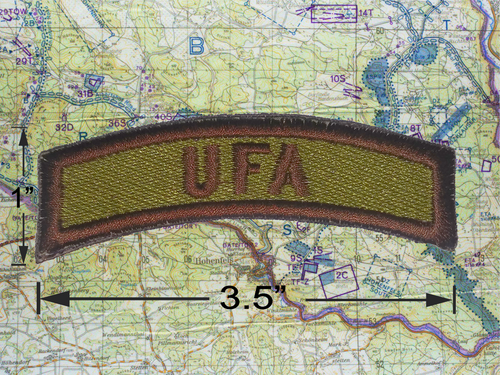 UFA Green Brown Tab