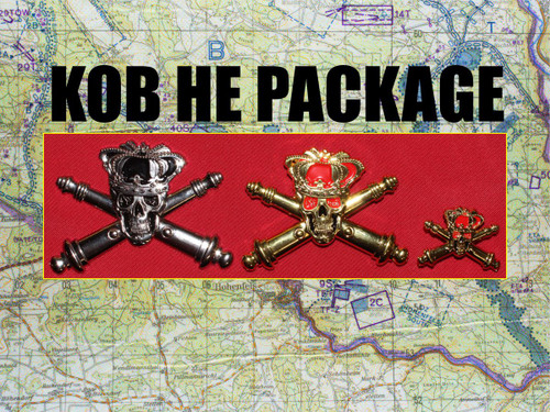 King of Battle Pins Package
