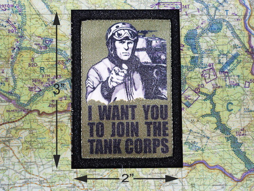 Join The Tank Corps Morale Patch