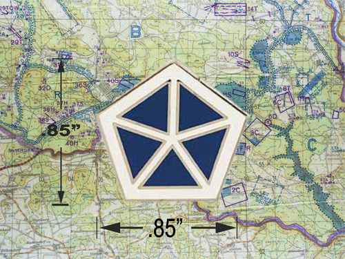 V Corps Hat Pin