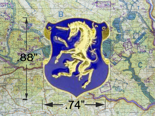 6th Cavalry hat Pin