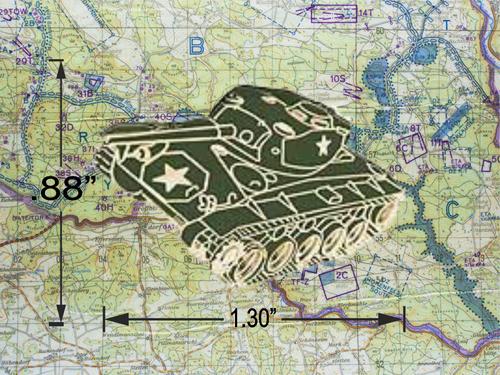 M24 CHAFFEE HAT PIN
