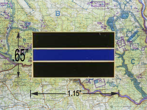 THIN BLUE LINE Pin