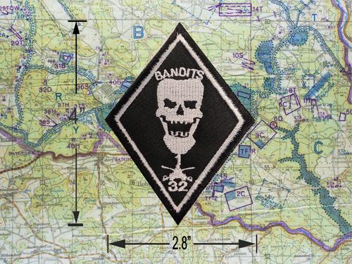 1-32 Armor Bandits Diamond Patch *B11*