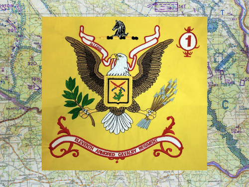 11TH ACR Regimental flag