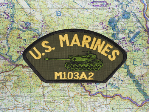 M103A2 HAT PATCH OLIVE DRAB 2