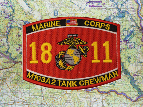 1811 M103A2 PATCH RED