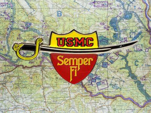 U.S.MARINES SWORD PIN