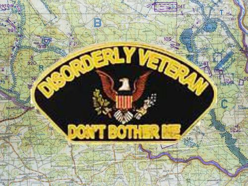Disorderly Veteran Pin K28