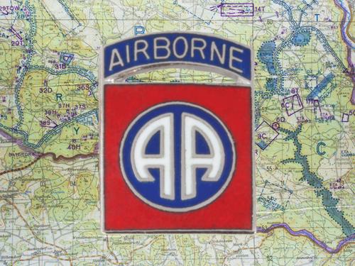 82nd Airborne Tie Pin