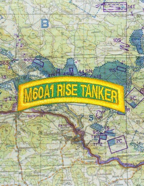 M60 A1 Rise Tanker Tab Green Gold Q15