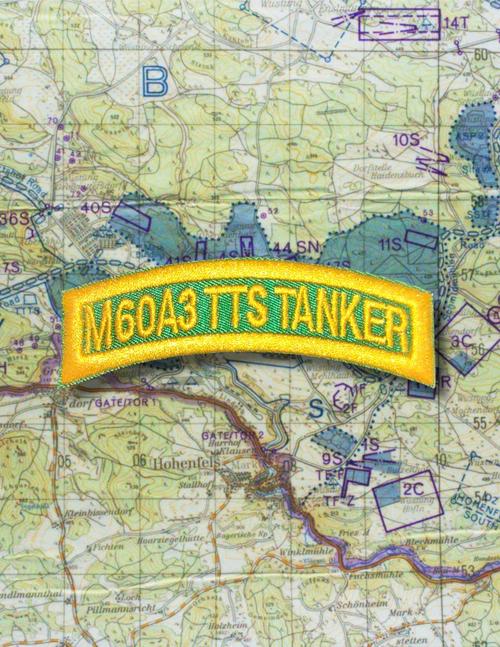 M60A3 TTS TANKER TAB GREEN GOLD Q18