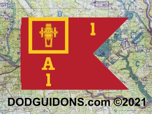 Guidon for Company of Battalion of a School Brigade (Regulation)
