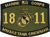 1811 M103A2 PATCH OLIVE DRAB 2