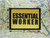 Essential Worker Yellow Moral Patch 3