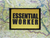 Essential Worker Yellow Moral Patch