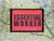 Essential Worker Red Moral Patch B17