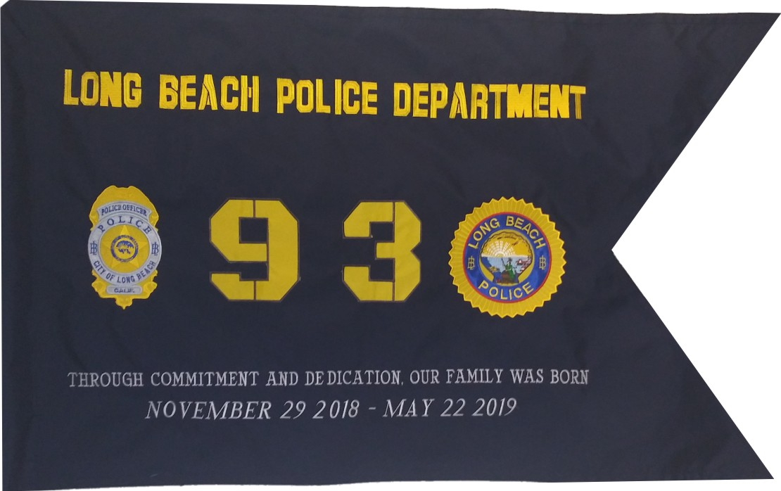 Long Beach Police Department Guidon