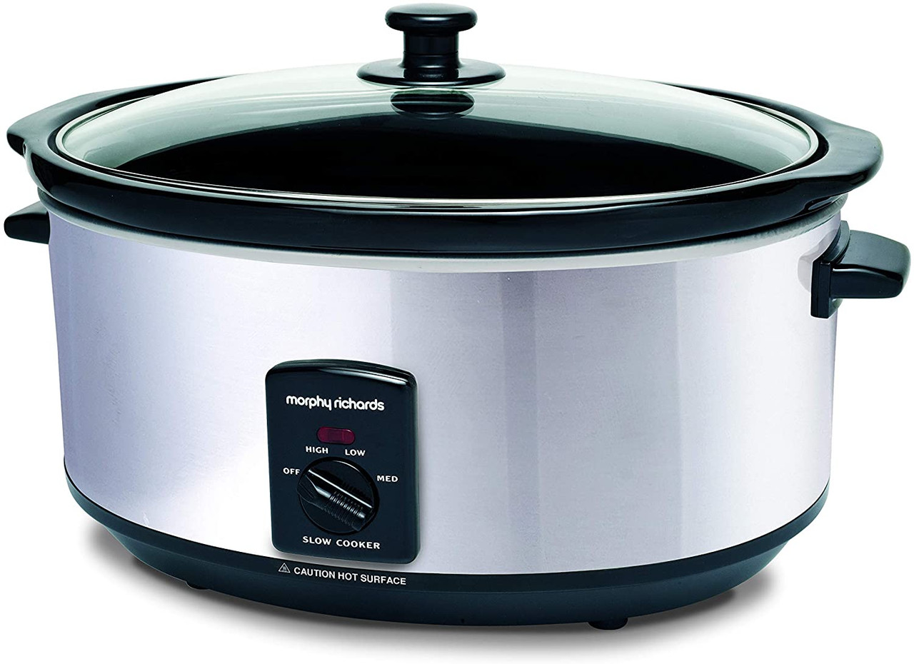 Morphy Richards Slow Cooker Slow cookers use low levels of energy making them economical to run rather. morphy richards slow cooker