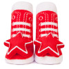Johnny Shaker Socks, Red