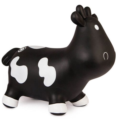 Inflatable Rubber Ride-on toy shaped as a cow