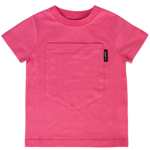 Big Pocket Cotton T-shirt for toddlers 6T
