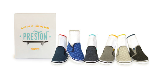 Preston Socks, 0 - 12 Months, 6 Pack