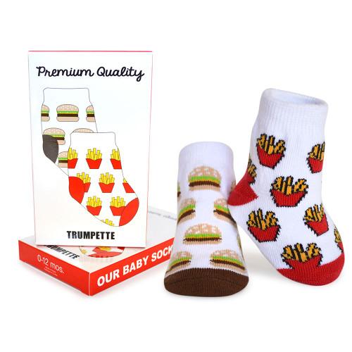 Trumpette Premium Quality Socks, 0 - 12 Months, 1 Pair