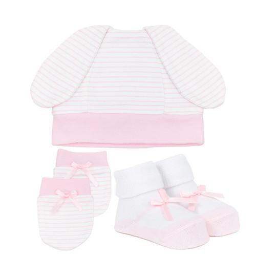Juddy Hops Gift Set Pink Organic Cotton