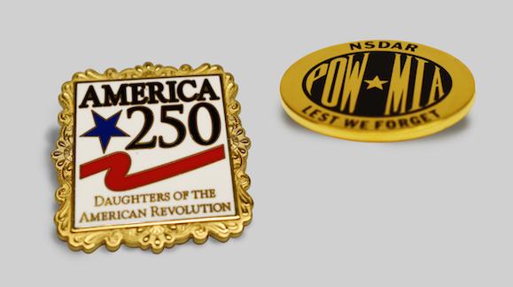 Commemorative Pins