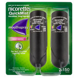 Nicorette QuickMist Mouth Spray Duo Pack at Blooms The Chemist