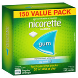 Nicorette Icy Mint Gum 2mg 150 Pack at Blooms The Chemist