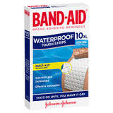 Band-Aid Waterproof Tough Strips Extra Large 10 Pack at Blooms The Chemist