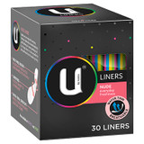 U by Kotex Nude Liners - 30 Pack at Blooms The Chemist