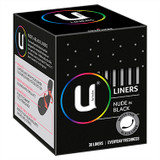 U by Kotex Nude Liners in Black - 30 Pack at Blooms The Chemist