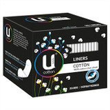 U by Kotex Cotton Liners - 26 Pack at Blooms The Chemist