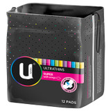 U by Kotex Ultrathins Super Pads with Wings 12 Pack at Blooms The Chemist