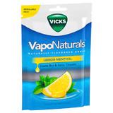 Vicks VapoNaturals Lemon Menthol Flavoured Drops 19 Pack