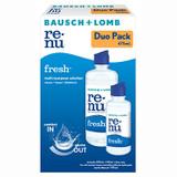 Bausch & Lomb Re-Nu Fresh Multi-purpose Solution Duo 355ml+120ml