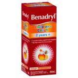 Benadryl Cough Liquid Child 200ml at Blooms The Chemist