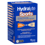 Hydralyte Sports Electrolyte Powder Orange Flavour 12 Pack