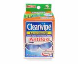 Clearwipe Lens Cleaner Antifog Vials 20pk