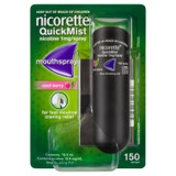 Nicorette QuickMist Mouth Spray Cool Berry 150 Sprays