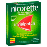 Nicorette 16hr Invisipatch Step 2 15mg 7 Pack at Blooms The Chemist