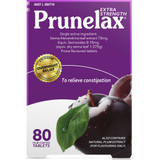 Prunelax Extra Strength Constipation Relief Tablets 80pk
