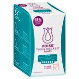 Poise Thin & Discreet Pants Large 5 Pack