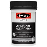 Swisse Men's Ultivite 50+ Multivitamin 60 tablets