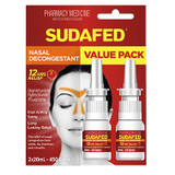 Sudafed Nasal Spray - Twin Value Pack - 2x 20mL