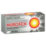 Nurofen Pain and Inflammation Relief Caplets 200mg Ibuprofen 48 pack