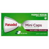 Panadol Paracetamol 500mg Mini Caps for Pain Relief, 96 caps